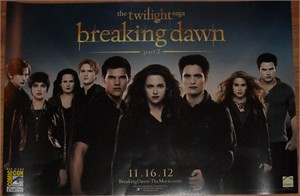 Twilight Breaking Dawn Part 2 2012 Comic-Con exclusive cast mini 11x17 movie poster