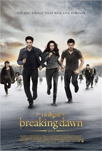 Twilight Breaking Dawn Part 2 mini 11x17 movie poster (Bella Edward Jacob)
