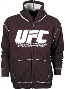 Ultimate Fighting Championship (UFC) brown hooded sweatshirt or hoodie NEW WITH TAGS