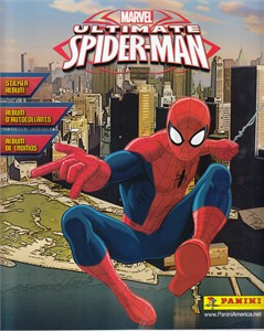 Ultimate Spider-Man Panini sticker album