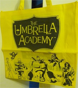 Umbrella Academy Comic-Con Dark Horse promo bag