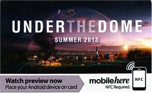 Under the Dome 2013 Comic-Con CBS promo card