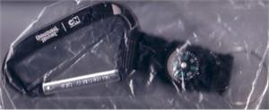 Unnatural History 2010 Comic-Con promo compass caribiner keychain