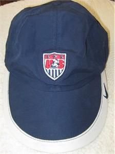 U.S. Soccer logo blue Nike women's cap or hat