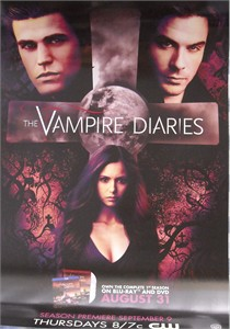Vampire Diaries 2010 Comic-Con promo poster