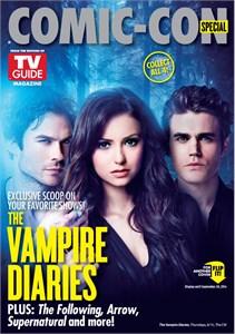 Vampire Diaries & Constantine 2014 Comic-Con TV Guide magazine