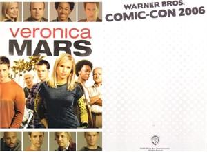 Veronica Mars 2006 Comic-Con 5x7 promo card (Kristen Bell)