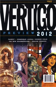Vertigo 2012 Wondercon promo DC comic book MINT
