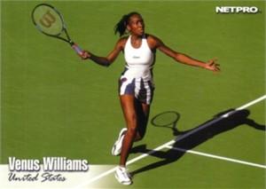 Venus Williams 2003 Netpro card #99