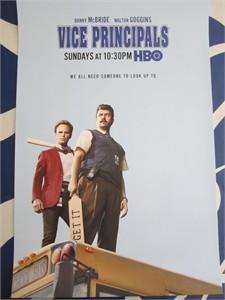 Vice Principals 2016 Comic-Con 13x20 inch mini HBO promo poster (Danny McBride)