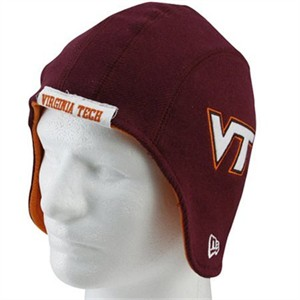 Virginia Tech Hokies helmet New Era knit cap or hat NEW WITH TAGS