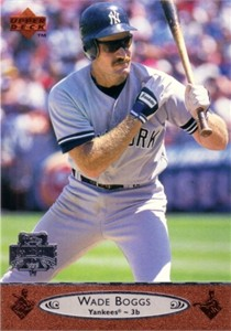 Wade Boggs 1996 Upper Deck All-Star Game jumbo card