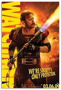 Watchmen mini movie poster (Jeffrey Dean Morgan as The Comedian) MINT