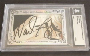 Wade Boggs certified autograph 2012 Leaf Executive Masterpiece Cut Signature card #1/1