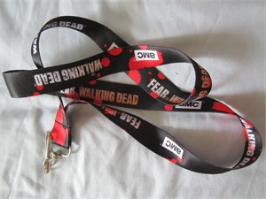 Walking Dead 2016 Comic-Con AMC promo lanyard