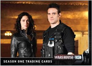 Warehouse 13 2010 Comic-Con Rittenhouse promo card MINT