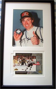 Wayne Gretzky autographed Goal 802 8x10 Los Angeles Kings photo framed with commemorative card