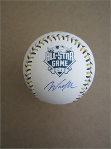 Wil Myers autographed 2016 All-Star Game official baseball (MLB authenticated)