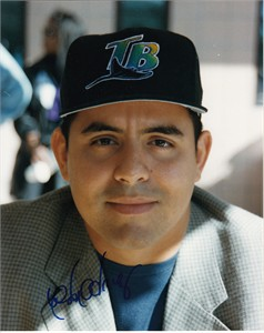 Wilson Alvarez autographed Tampa Bay Devil Rays 8x10 photo