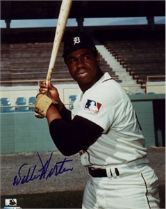Willie Horton autographed Detroit Tigers 8x10 photo