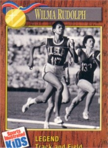 Wilma Rudolph 1990 Sports Illustrated for Kids card