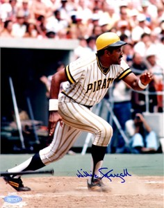Willie Stargell autographed Pittsburgh Pirates 8x10 photo (Steiner)