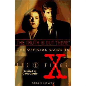 X-Files Official Guide original softcover book LIKE NEW