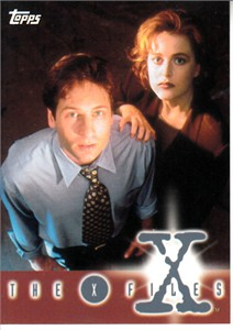 X-Files Season 1 1995 Topps album or binder card #0 VERY RARE