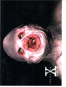 X-Files Season 2 1996 Topps promo card P3