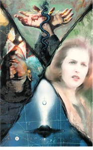 X-Files 1995 Topps MasterVisions jumbo promo trading card EXTREMELY RARE