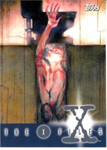 X-Files Season 1 Topps promo card P3