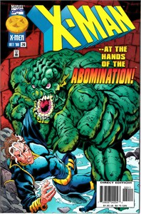 X-Men 1996 Marvel comic book issue #20
