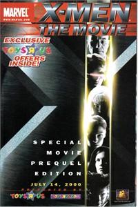 X-Men The Movie Marvel Toys R Us promo comic book