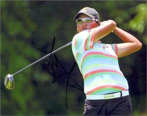 Yani Tseng autographed 2008 LPGA Championship 8x10 photo