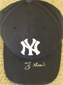 Yogi Berra autographed New York Yankees cap or hat