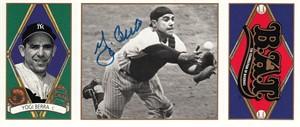 Yogi Berra autographed 1993 Upper Deck All-Time Heroes card (JSA)