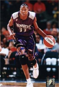 Yolanda Griffith autographed WNBA Sacramento Monarchs 8x10 photo
