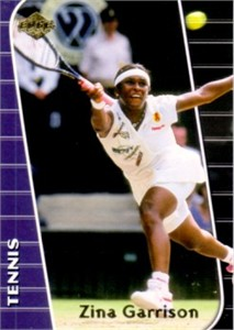 Zina Garrison 2000 Collector's Edge card