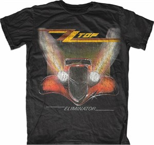 ZZ Top Eliminator T-shirt (charcoal gray XL NEW WITH TAGS)