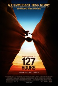 127 Hours mini movie poster (James Franco)