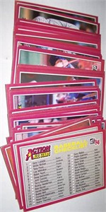 1984 Donruss Action All-Stars complete 60 jumbo card set (George Brett Cal Ripken Nolan Ryan)