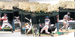 1986 Donruss Pop-Ups complete 18 card set (Tony Gwynn Cal Ripken)
