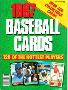 1987 Baseball Cards magazine (Publications International)