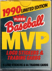 1990 Fleer MVP complete 44 card set (Ken Griffey Jr. Tony Gwynn Kirby Puckett Cal Ripken Ozzie Smith Robin Yount)