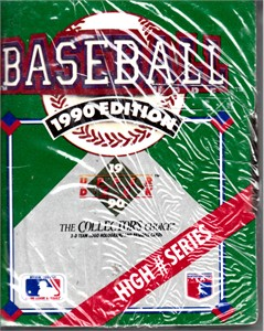 1990 Upper Deck High Number Series complete factory sealed set of 100 cards
