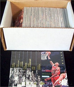 1993-94 Upper Deck SE near complete basketball card set (Chris Webber RC)