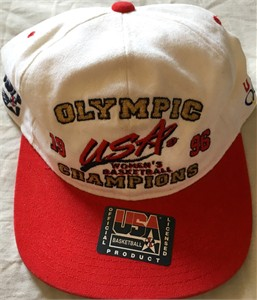 1996 USA Women's Basketball Olympic Gold Medal Champions cap or hat NEW