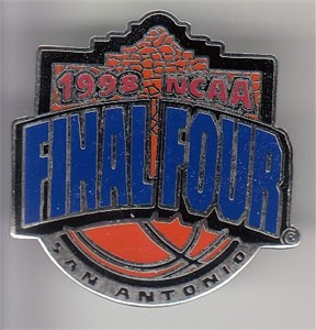 1998 NCAA Final Four logo pin (Kentucky Wins 7th National Championship)