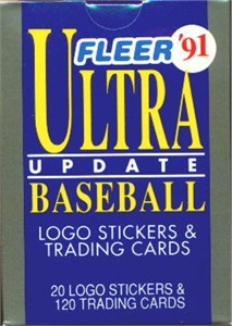 1991 Ultra Update baseball card set MINT factory sealed (Jeff Bagwell Mike Mussina Ivan Rodriguez RCs)