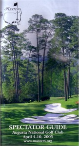 2005 Masters spectator guide (Tiger Woods)